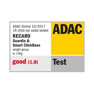 RECARO Guardia test ADAC
